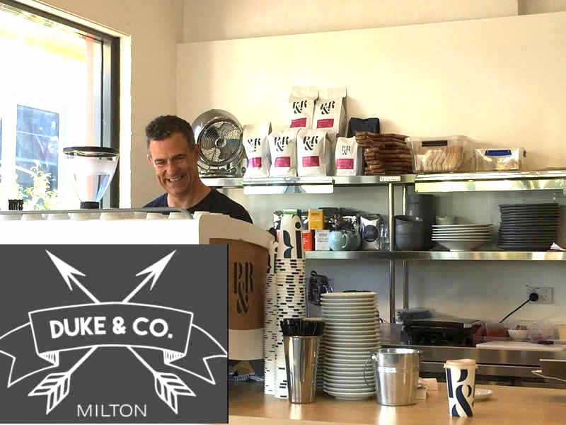 Coffee,Duke & Co,Cafe,Milton Coffee Hub,Milton,NSW
