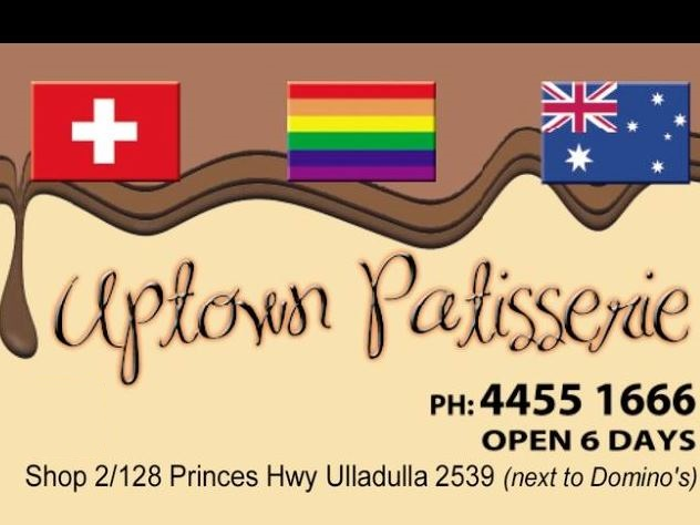 Uptown Patisserie Ulladulla,Uptown Patisserie,Patisserie Ulladulla,Ulladulla,coffee,Patisserie